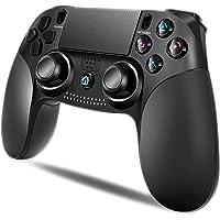 【2020年最新 アマゾン通販】 PS4 コントローラー MAXKU 無線 最新バージョン Bluetooth リンク遅…