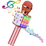 BlueFire 4 in 1 Bluetooth Handheld Wireless Karaoke Microphone Portable Speaker Machine Home KTV Player with Record Function