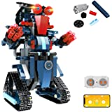 STEMBuilding Block ToyRC Robotfor Kids,aukfaApp Controlled &Remote Control Robotic Toyfor Boys and Girls,Engineering