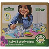 Abby Butterfly Maker Sesame Street Coloring Set Closed Box