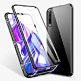 Huawei Honor 8X Case, Huawei V10 lite/View 10 Lite ZHIKE Magnetic Adsorption Case Front and Back Tempered Glass Full Screen C