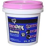 Dap 12328 DryDex Spackling Interior/Exterior, 1/2-Pint