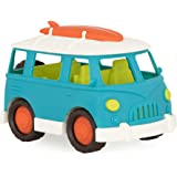 Wonder Wheels by Battat – Camper Van – Toy Truck with Opening Roof & Detailed Interior For Kids Age 1 & Up – 100% Recyclable,