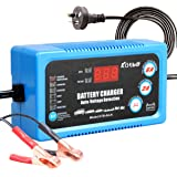 Katbo Fully Automatic Battery Charger and 6A Maintainer 6V 12V Current switchable 2A 6A
