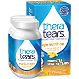 TheraTears 1200mg Omega 3 Supplement for Eye Nutrition, Organic Flaxseed Triglyceride Fish Oil and Vitamin E, 90 Count, 3 Pac