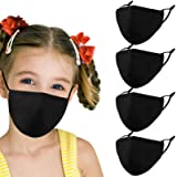 Kids Reusable Washable Breathable Face Mask with Adjustable Earloops for Boys Girls Children Gift, Cute Designer Madks Facema