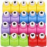 Paper Punches Set Kattool Mini Crafting Paper Punch Crafts Puncher Image Hole Cutters for Scrapbooks Albums Photos Cards and