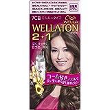 ウエラトーン 2+1 ミルキー EX 7CB 明るいナチュラルブラウン 白髪染め コーム付きノズルで簡単 医薬部外品