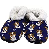 Jack Russell Terrier Super Soft Women's Slippers - One Size Fits Most - Cozy House Slippers - Non Skid Bottom - perfect for J