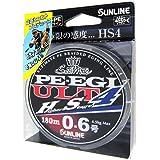 サンライン(SUNLINE) PEライン ソルティメイト PEエギ ULT HS4 180m 0.6号 4.5kg 4本 ホワイト・ピンク・ライトグリーン
