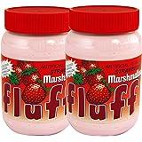 fluff(フラフ) マシュマロクリーム ストロベリーフレーバー 213g×2個