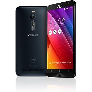 【国内正規品】ASUSTek ZenFone2 ( SIMフリー / Android5.0 / 5.5型ワイド / デュアルmicroSIM / LTE ) (ブラック, 2GB/32GB) ZE551ML-BK32