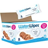 WaterWipes Fragrance Free Newborn Sensitive Baby Wipes 540 Count Super Value Box (Pack of 9)