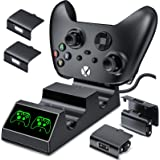 Charging Station for Xbox One&Xbox Series X Controller(Fits Newest Controller), Controller Charger for Xbox One/Series X|S/X/