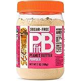 PBfit Betterbody Foods Sugar-Free All-Natural Peanut Butter Powder 198g (7 oz), Peanut Butter, 7 Oz