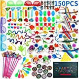 150PCS Classroom Prizes for Kids Birthday Party Favours Treasure Chest Prizes Toy Assortment for Classroom