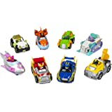 Paw Patrol 6055861 True Metal Mighty Pack of 8 Collectible Die-Cast Vehicles, 1:55 Scale