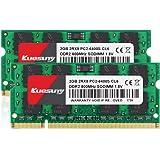 クエスニーノートPC用メモリ DDR2 800 PC2-6400 2GB×2枚 200Pin 1.8V CL6 Non…