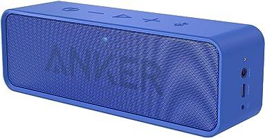 Anker SoundCore ポータブル Bluetooth4.2 スピーカー 24時間連続再生可能【デュアルドライバー/ワイヤレススピーカー/内蔵マイク搭載】(ブルー)