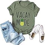 Hoyod Womens Frida Kahlo Shirts Summer Short Sleeve Casual T Shirt Cute Graphic Tee