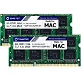 Timetec Hynix IC 16GB KIT(2x8GB) Compatible for Apple DDR3 PC3-8500 1067MHz/1066MHz Upgrade for MacBook 13'' Mid 2010, MacBoo