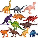 Kimicare Dinosaur Figure Toys, 7 Inch Jumbo Plastic Dinosaur Playset, STEM Educational Realistic Dinosaur Figures for Boys To