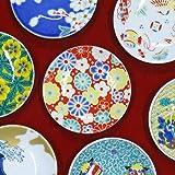 お皿 おしゃれ 九谷焼 縁起 豆皿 梅菊紋様 陶器 小皿 取り皿 和食器