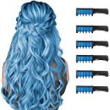 New Hair Chalk Comb Temporary Bright Hair Color Dye for Girls Kids, Washable Hair Chalk for Girls Age 4 5 6 7 8 9 10 New Year
