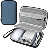 Comecase Hard Case for Apple Pencil, Magic Mouse 2 and 1, Magsafe Power Adapter, BeatsX Earphone, Magsafe Power Adapter, Magn
