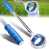Golf Ball Retriever, Extendable Golf Ball Retriever Telescopic [Longest 78.7''/102''] Golf Accessories for Men Gift Golf Pick