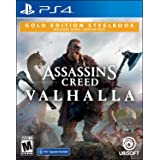 Assassin's Creed Valhalla SteelBook Gold Edition (輸入版:北米) - PS4