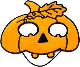 TOYARTs ハロウィン こみかるマスク 【 カワイイのに思わず笑っちゃう 】 お面 コスプレ (パンプキン)