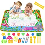 Aqua Magic Doodle Mat Extra Large Water Drawing Coloring Mat Mess Free Educational Kids Toy Gifts for Toddles Boys Girls 3+,