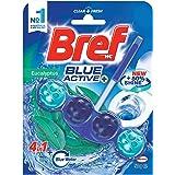 Bref Blue Active Eucalyptus, Rim Block Toilet Cleaner, 50g, Eucalyptus