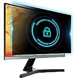 YAKAI 27 Inch (16:9 Aspect Ratio) Privacy Screen Filter for Widescreen Computer Monitor/PC - Anti Glare Anti Spy Protector Fi