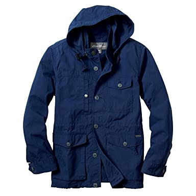 Cotton Nylon Puget Parka 019671: Dark Sapphire