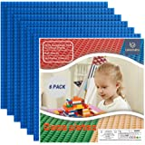 """Lekebaby Baseplates Classic Building Base 10""""x10"""" Large Building Board Base Plates, 100% Compatible with All Major Brands Bas"""