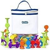 BunMo Fidget Toys Bath Toys and Suction Toys - Sucker Toys are Fun Vibrant Sensory Toys, Kids Toys or Stem Learning Toys - 24