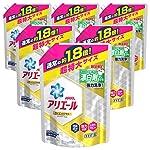【ケース販売】アリエール 洗濯洗剤 イオンパワージェル消臭成分アップ 超特大 1.18kg×6