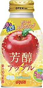 ダイドー ぷるっシュ!! ゼリー×スパークリング 芳醇アップル 270g ×24本