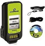 CANMORE社 バッテリ内蔵 USB接続GPSモジュール データ記録 携帯式GPSロガー ◇GP102+ グリーン