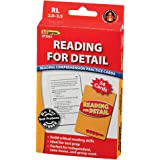 Edupress Reading Comprehension Practice Cards, Reading for Detail, Red Level (EP63061)