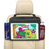 lebogner Insulated Car Seat Back Organizer + iPad and Tablet Holder, Auto Driver Or Passenger Accessories Organizer, Vehicle