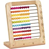 B. toys – Two-ty Fruity! Wooden Abacus Toy – Classic Wooden Math Game Toy for Early Childhood Education and Development with