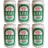 台湾ビール ゴールド 缶 ビール 330ml (6本)