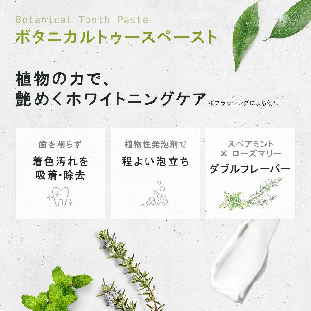 SALE価格!【5本セット】ボタニカルトゥースペースト