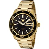 Seiko 5 Automatic SNZH60K Gold Stainless-Steel Fashion Watch