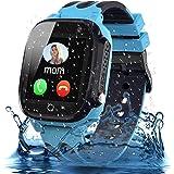 Jsbaby Kids smartwatch with Waterproof (Blue)