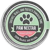 Paw Nectar 100%オーガニック成分の犬用肉球クリーム 肉球バーム 傷ついた犬の肉球を癒し修復