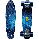 RIMABLE 22寸立体声地上 ミニクルーザータイプコンプリートスケートボード